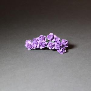 Dekorační růžičky fialové
